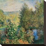 Corner of the Garden at Montgeron  c1876