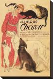 Clinique Cheron Tableau sur toile par Théophile Alexandre Steinlen