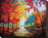 Autumn Impressions Tableau sur toile par Maya Green