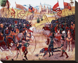 Froissart's Chronicles: Battle of Najera  1340