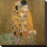 Le Baiser, vers 1907 Tableau sur toile par Gustav Klimt