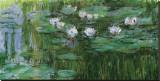 Les Nymphéas Tableau sur toile par Claude Monet