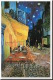 Cafe Terrace, Place du Forum, Arles, 1888 (Detail) Tableau sur toile par Vincent Van Gogh