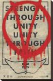 V pour Vendetta Tableau sur toile