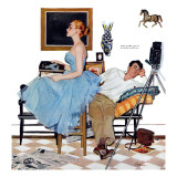 "One Way Affair  - Saturday Evening Post ""Leading Ladies""  September 10  1955 pg23"