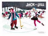 Skating Fun - Jack and Jill  February 1945