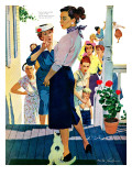 """Strangers in Town  2 - Saturday Evening Post """"Leading Ladies""""  May 30  1959 pg19"""