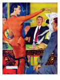 "Petticoat Empire - Saturday Evening Post ""Men at the Top""  May 26  1951 pg22"