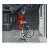 """Lonely Girl - Saturday Evening Post """"Leading Ladies""""  August 11  1945 pg16"""