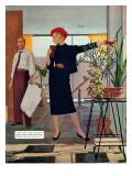 "The Brute Next Door  - Saturday Evening Post ""Leading Ladies""  October 9  1954 pg22"