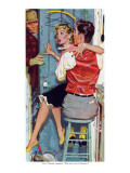 "The Undecided Blonde  - Saturday Evening Post ""Leading Ladies""  January 29  1955 pgp24"