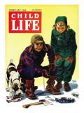 Ice Fishing - Child Life  February 1946