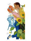 "Love Struck - Saturday Evening Post ""Leading Ladies""  April 25  1959 pg37"