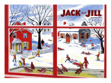 Winter Fun - Jack and Jill  January 1949