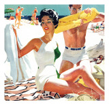 """I Love My Mother-In-Law - Saturday Evening Post """"Leading Ladies"""", June 5, 1954 pg.20 Giclée par Robert Meyers"""