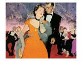 "Second Elopement  - Saturday Evening Post ""Leading Ladies""  August 8  1953 pg24"