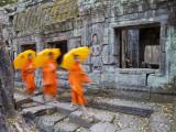 Ta Phrohm Temple, Angkor Wat, Siem Reap, Cambodia Papier Photo par Gavin Hellier