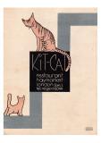 Kit Cat Resteraunt  Haymarket  London Poster 1