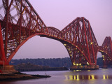 The Forth Rail Bridge  Firth of Forth  Edinburgh  Scotland;