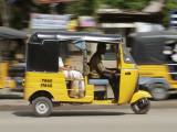 India  Tamil Nadu; Tuk-Tuk (Auto Rickshaw) in Madurai