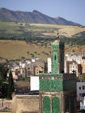 View across the Old Medina of Fes  Morocco