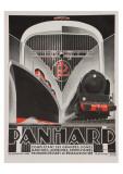 Art Deco Panhard Poster