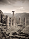 Greece  Delphi (Unesco World Heritage Site)  Temple of Apollo