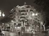 La Pedrera (Casa Mila) by Gaudi  Barcelona  Spain
