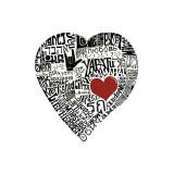 Amour en 44 langues Giclée par L.A. Pop Art