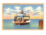 Ferry Boat  Galveston  Texas