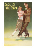Roller Skating Couple