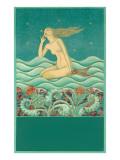 Mermaid Listening to the Ocean