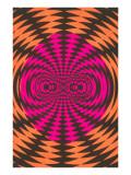 Op Art Psychedelic Pattern