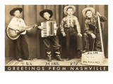 Greetings from Nashville  Child Hillbilly Musicians