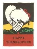 Stylish Turkey  Happy Thanksgiving