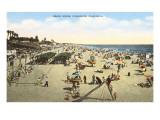 Beach Scene  Oceanside  California