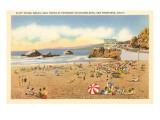 Cliff House Beach  Seal Rocks  San Francisco  California