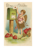 To My Valentine  Cupid Mailing Letter