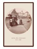 Boardwalk  Hotel del Coronado  San Diego  California