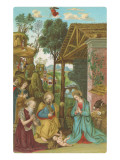 Nativity Scene by Pinturicchio  Rome