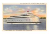 Ferry Between Seattle and Bremerton  Washington