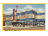 Greyhound Bus Depot  Charleston  West Virginia