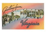 Greetings from Waynesboro  Virginia