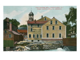 Old Slater Mill  Pawtucket  Rhode Island
