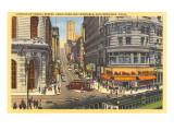 Cable Cars  Powell Street  San Francisco  California