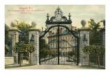 Entrance to the Breakers  Newport  Rhode Island