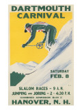 Poster for Dartmouth Skiing Carniival