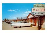 El Rancho Vintage Motel  Cadillac with Fins