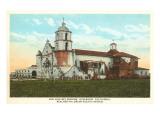 Mission San Luis Rey  Oceanside  San Diego County  California
