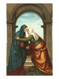 The Visitation by Albertinelli  Florence